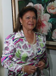 Presidente de Honra da Soarte, Nicole Sidi, participa da exposição como convidada especial