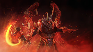 crown of hells lucifer the doom dota 2 hero set hd