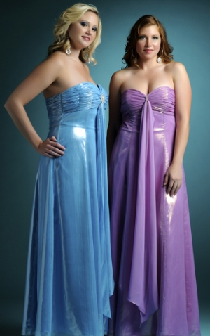 Size  Shoulder Dress on How To Choose The Best Plus Size Evening Dress According To Your Body