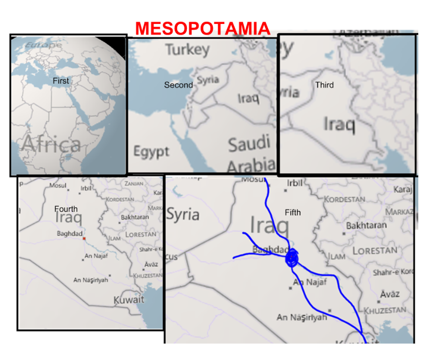 Map Of Ancient Mesopotamia Worksheet I made a map this afternoon.