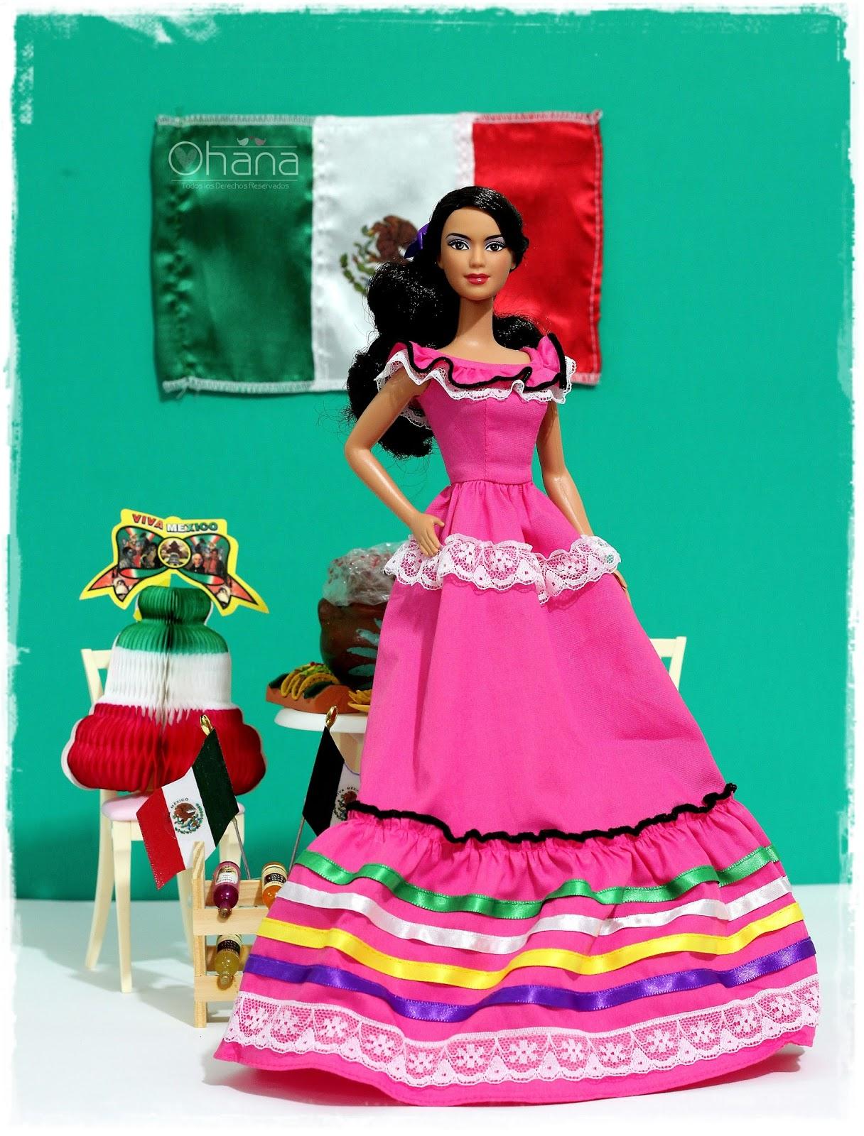Magnífico Barbie Vestido De Fiesta Hasta Bosquejo - Colección de ...
