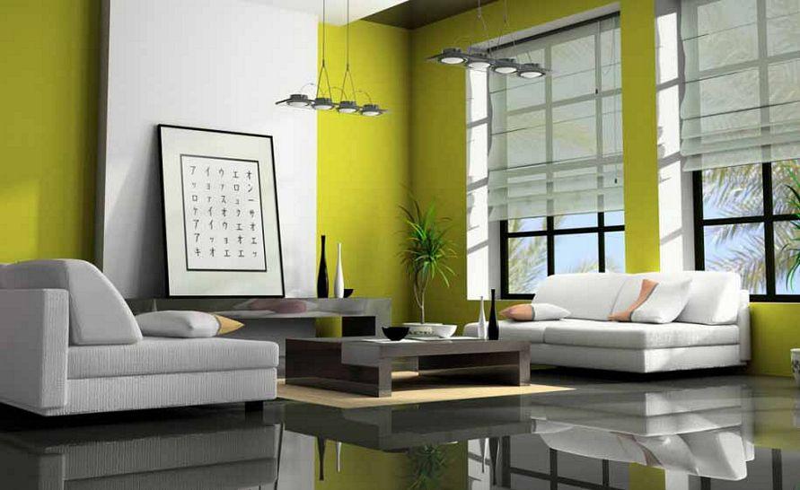inspirasi cat interior rumah sederhana