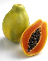 gambar buah pepaya dan sikinya