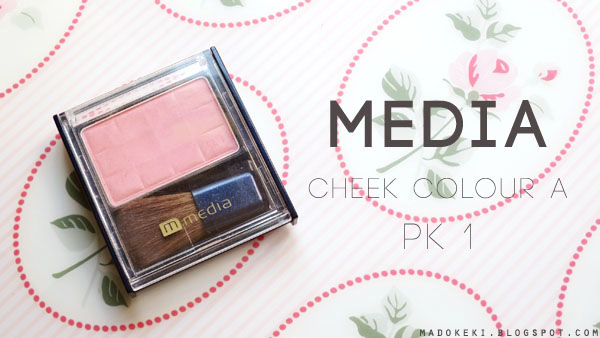 Media Cheek Color A PK-1 (Swatch and Review)