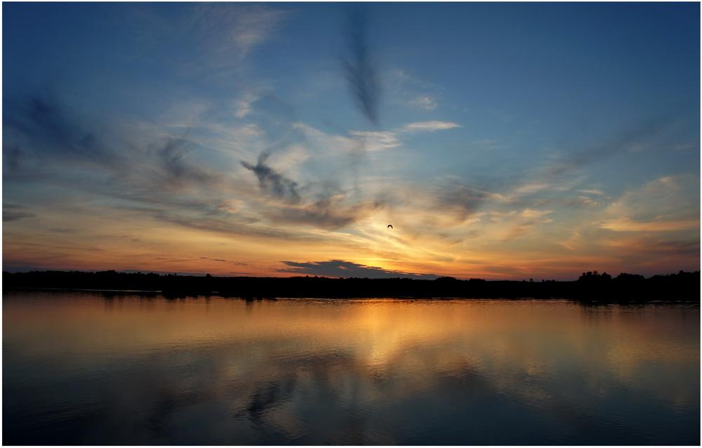 Volga Sunset Russia