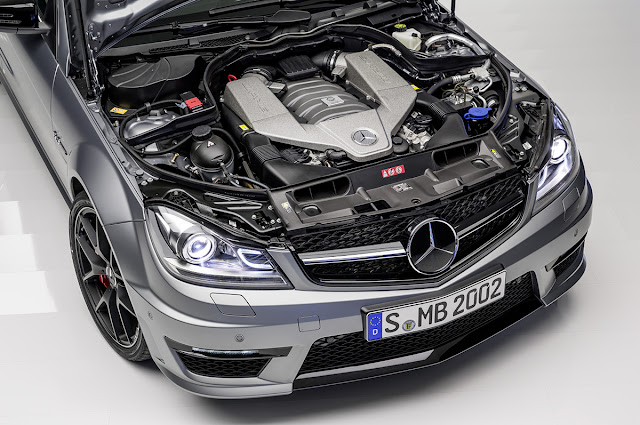 2014 MERCEDES-BENZ C63 AMG EDITION 507 Engine