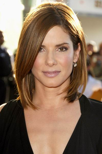 Medium length long bob hairstyles