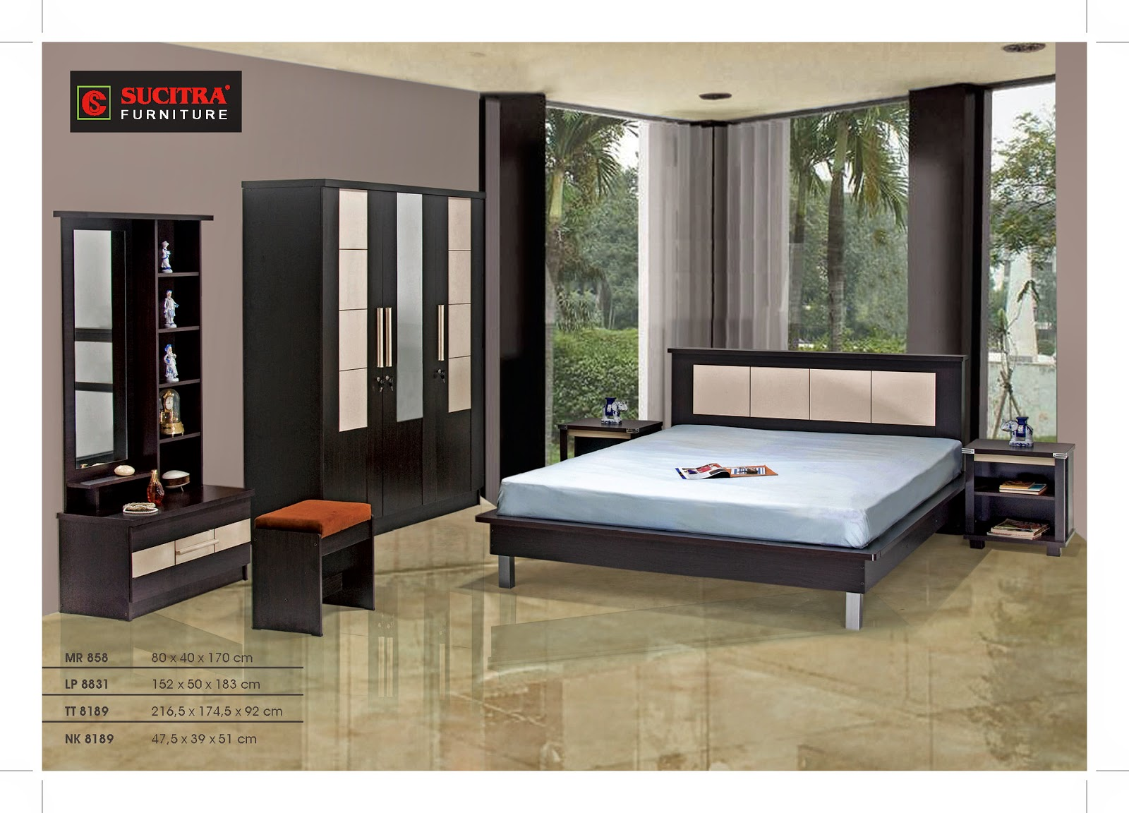 Bedroom Set Sucitra Furniture