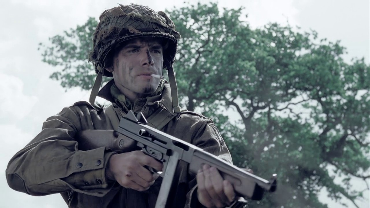 Image result for Submachine gun in the movies