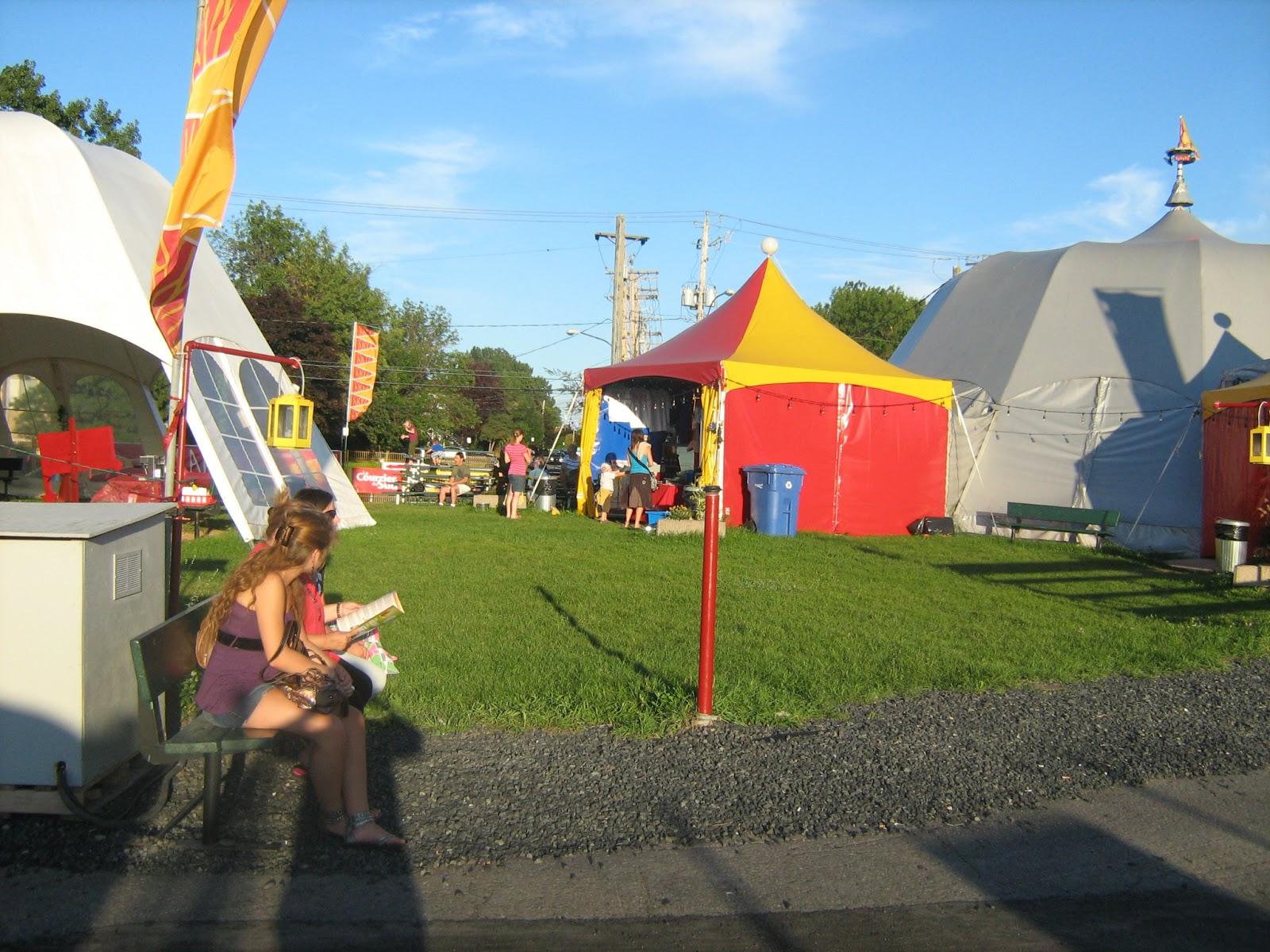 Rencontre regional de cirque