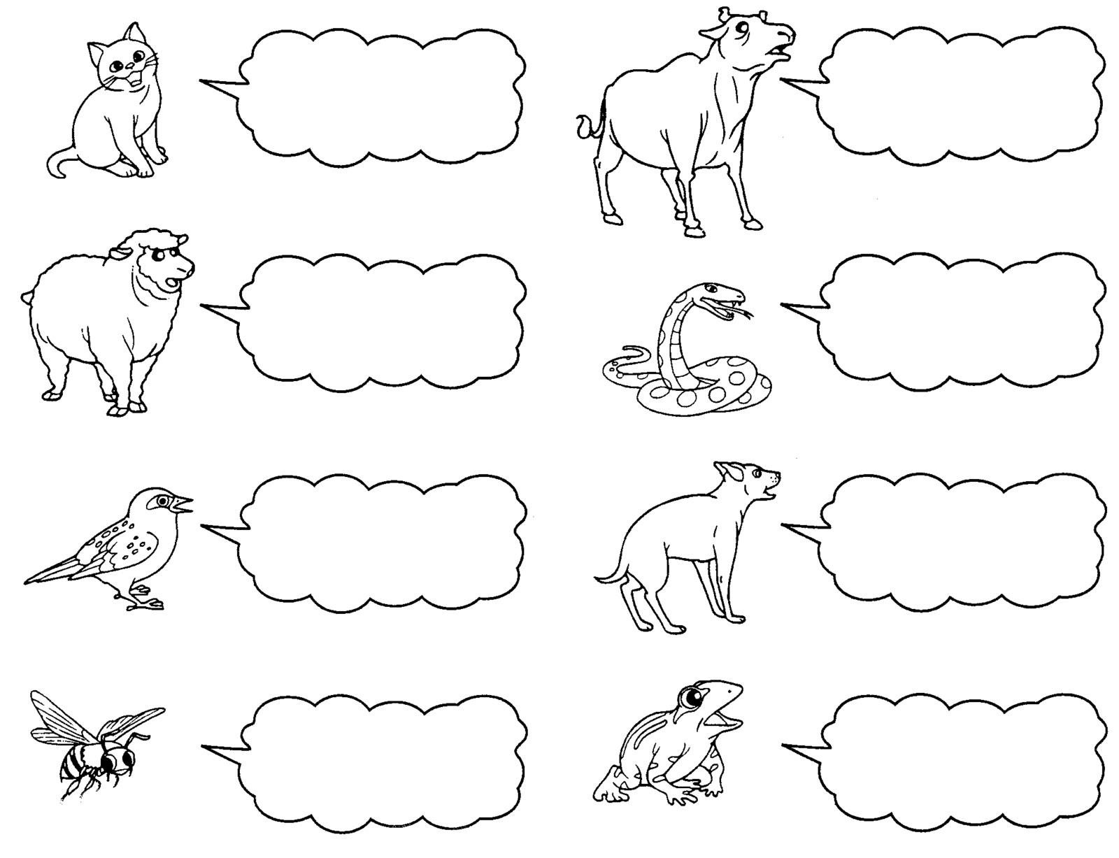 Latihan Bunyi Haiwan