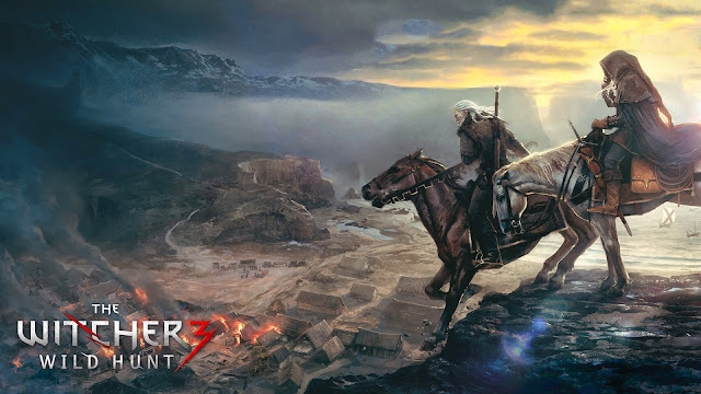 the witcher 3 wild hunt wallpapers - Geralt Ciri The Witcher 3 Wild Hunt Wallpapers HD