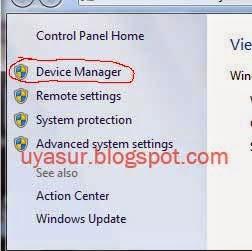 Pilih Device Manager