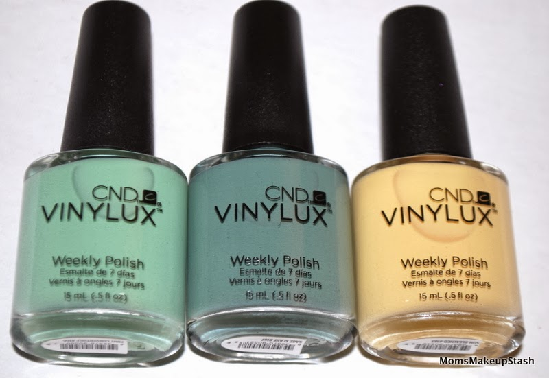 CND Nail Polish, CND Vinylux, CND Open Road Collection, Open Road Swatches