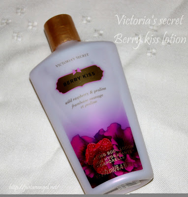 crema corp Victoria's secret Berry Kiss