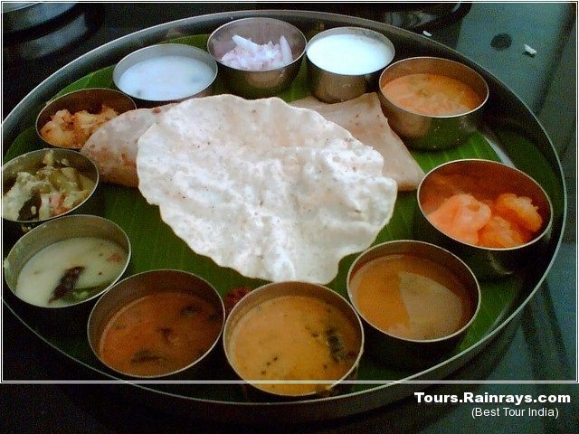Thali food