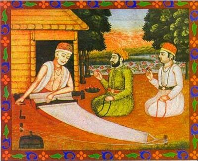 Kabir (1440-1518) fue un gran místico hindú que vivió humilde-Mente como tejedor...