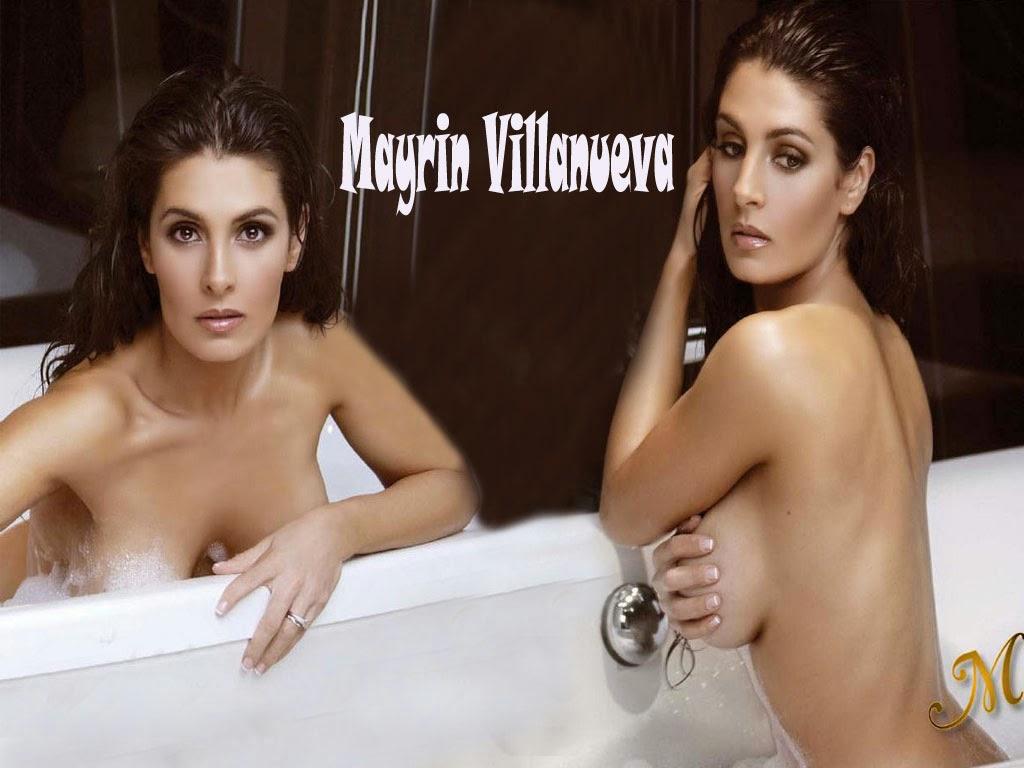 Mayrin Villanueva und Bikini