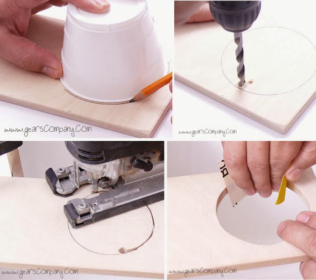 DIY Handform Jewelry Display