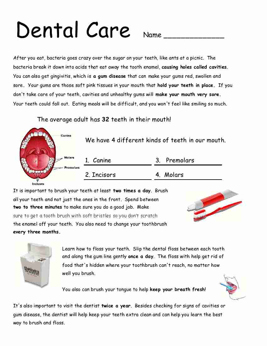 Free Worksheet Hygiene Worksheets health and hygiene worksheets abitlikethis empowered by them dental care