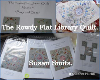 BOM:The Rowdy Flat Library Quilt
