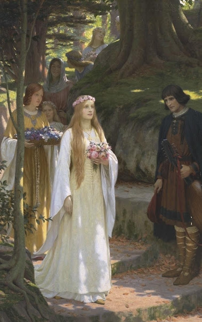 my fair lady,Edmund Blair Leighton,medieval