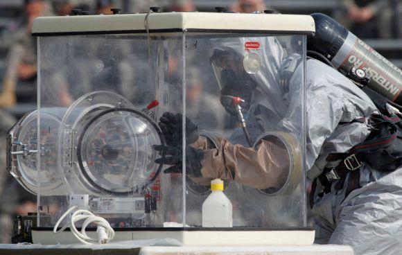 AS Kirim Batalion Kimia ke Korea Selatan