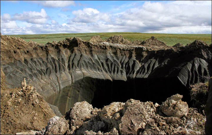 Dozens Of New Craters Suspected In Northern Russia