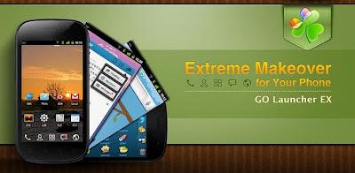 GO Launcher EX untuk android