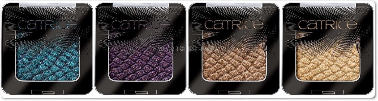 CATRICE - Feathered Fall - Luxury Eyeshadows - Volver a Sentirte to Wapa