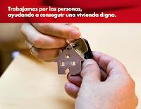 Trabajamos por las personas, ayudando a conseguir una vivienda digna.
