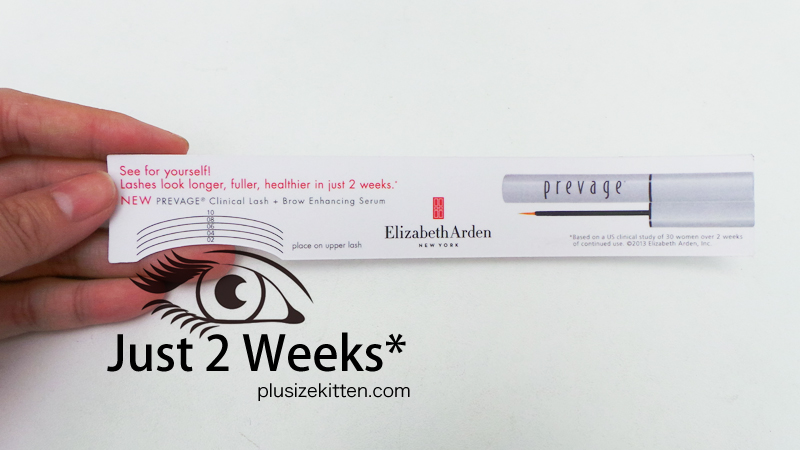 Plus Size Kitten Elizabeth Arden Prevage Clinical Lash Brow