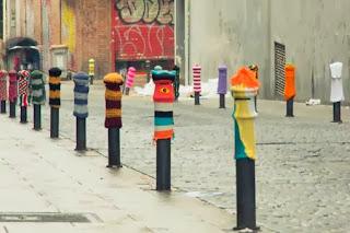 Yarnbombing Madrid