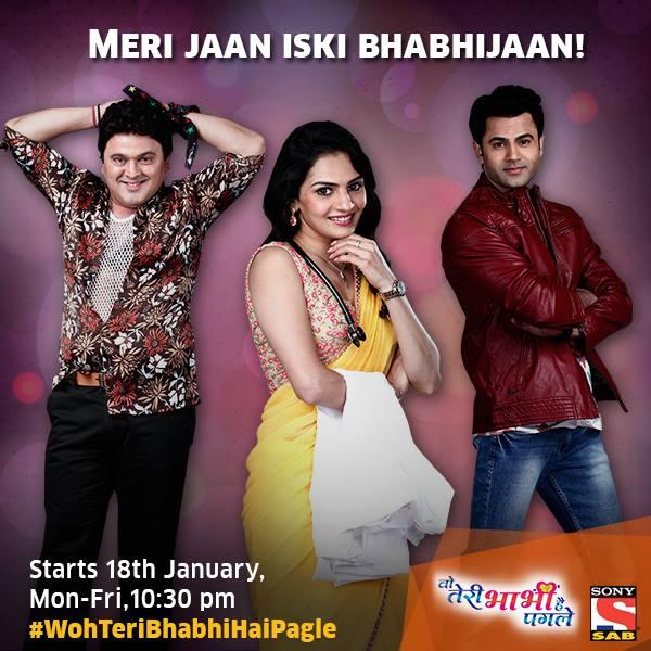 "Sab Tv ""Woh Teri Bhabhi Hai Pagle"" Timings,Cast,Story,Wallpaper,Promo"