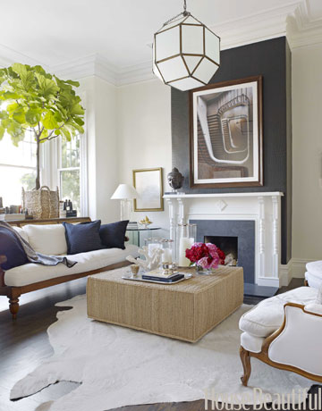Wn trza zewn trza blog wn trzarski szare ciany for Grey and off white living room designs
