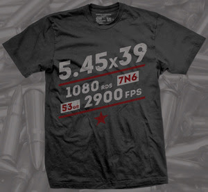 Russian Roulette Clothing 5.45x39mm shirt