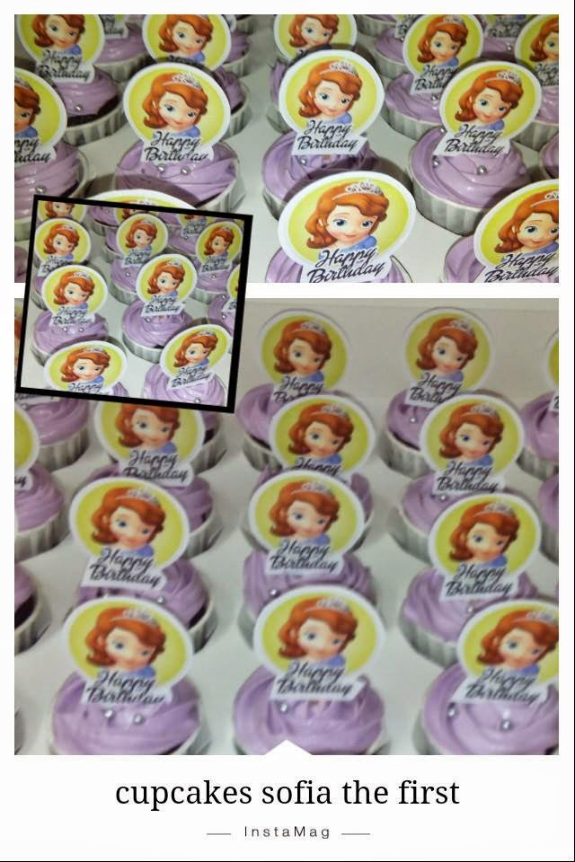 cupcakes sofia the first