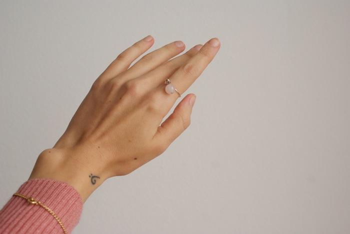 ring diy charm anello faidate