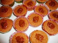 Relleno de Cupcakes de dulce de leche