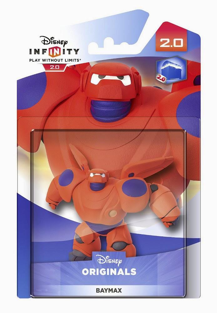 TOYS : JUGUETES - DISNEY Infinity 2.0 Figura Baymax - Big Hero 6 | Muñeco | Disney Originals  Videojuegos | Producto Oficial | A partir de 7 años  Xbox One, PlayStation 4, Nintendo Wii U, PlayStation 3, Xbox 360  Disney | 7 noviembre 2014