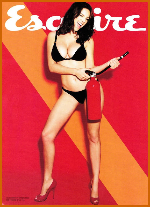 Kelly Brook Strips Down For Esquire Magazine wallpapers