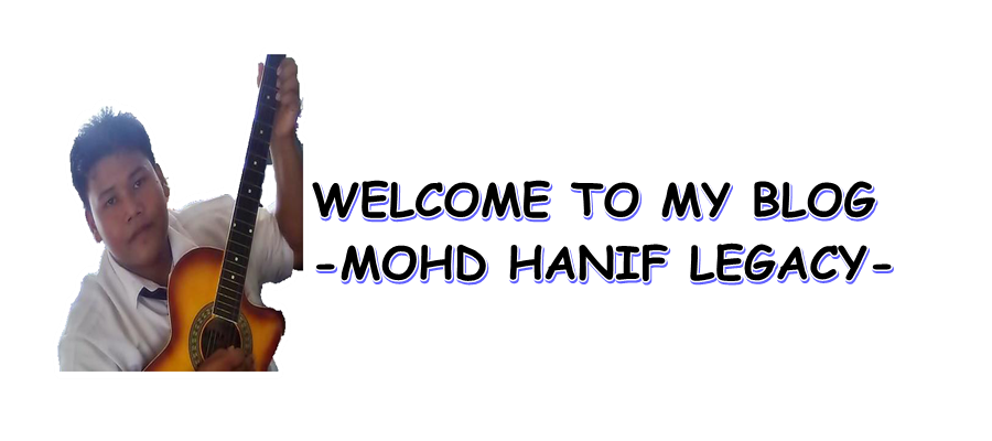 Welcome To My Blog--->> HANIF