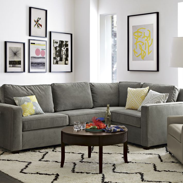 pottery barn cameron sectional reviews 3