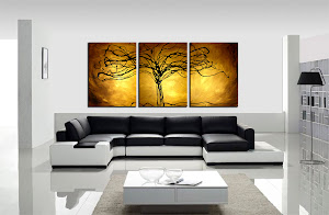 "BEAUTIFUL ORIGINAL ABSTRACT PAINTING ""TREE OF LIFE"" $250"