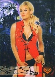 Renee Stone Bench Warmer 2010 Halloween trading card