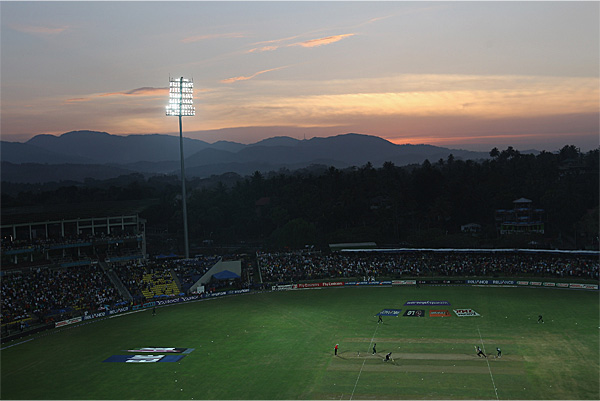 Pallekele International Cricket Stadium Kandy Sri Lanka