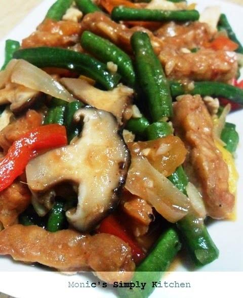 resep oseng jamur kacang panjang