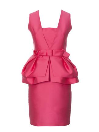 Как сшит платье с баской 649