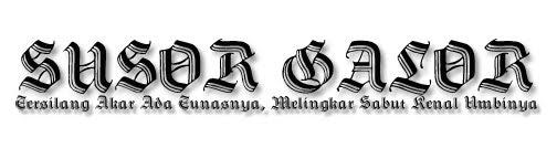 Susor Galor Alam Melayu