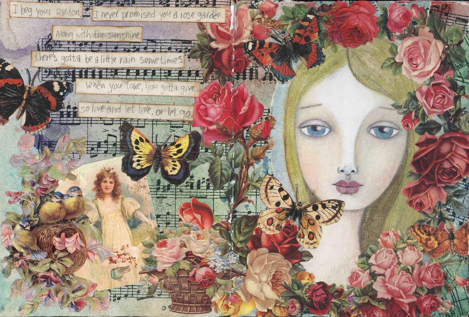 Anniek 39 s art rosegarden for Lynn anderson rose garden lyrics
